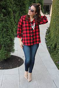 Red Plaid Shirt Outfit | www.pixshark.com - Images Galleries With A Bite!