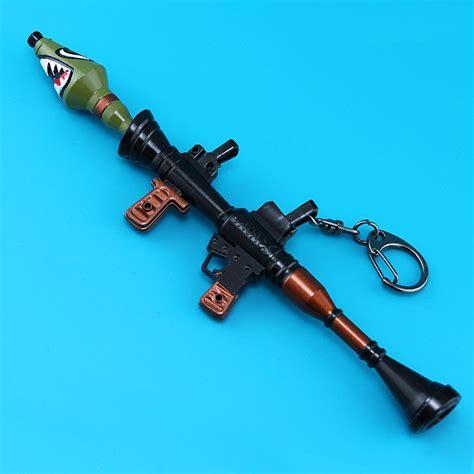 fortnite battle royale rpg rocket launcher model keychain