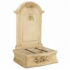 Fontaine D Exterieur En Pierre : fontaine en pierre reconstitu e ton pierre beausoleil ~ Premium-room.com Idées de Décoration
