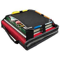 Office Depot Zipper Binder by Five Zipper Binder With Expansion Panel 2 Rings
