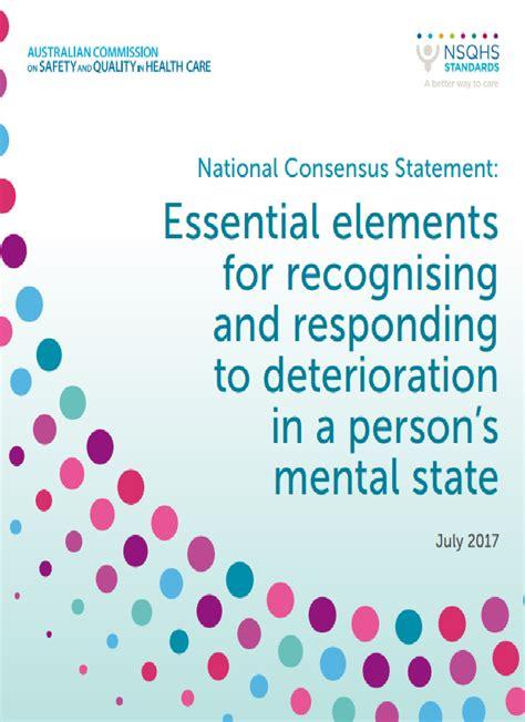 Recognising And Responding To Deterioration Australian