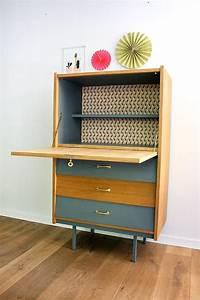 Les 25 meilleures idees de la categorie secretaire vintage for Un secr taire meuble