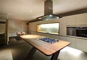 Cuisine contemporaine blanche comment creer la cuisine for Idee deco cuisine avec cuisine contemporaine design