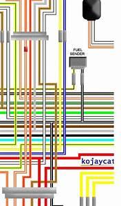 Suzuki Gsx550 Es 1988 Uk Spec Colour Wiring Harness Loom Diagram