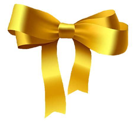gold bow clip art  clkercom vector clip art