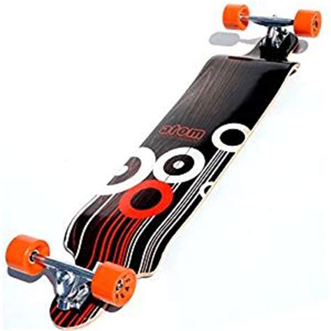 amazon com atom drop deck longboard 41 inch
