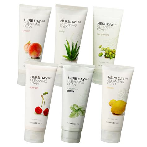 Harga The Shop Cleansing Foam the sweet spot review the faceshop herb day 365