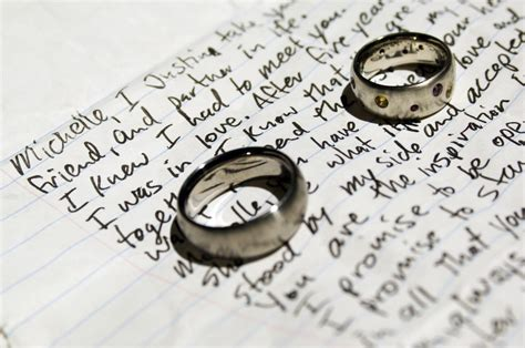 6 steps to writing the personalized vows