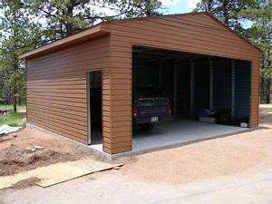 two car garage kits image With 2 car steel garage kits