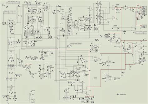 Diagram Of Sony by Sony Kdl 40u4000 Flat Panel Tv Power Supply Smps