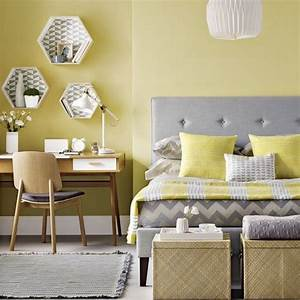 25, Lovely, Yellow, Aesthetic, Bedroom, Decorating, Ideas