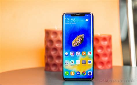 huawei mate  pro review lab tests display battery