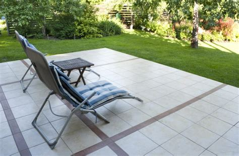 how to install tile an existing concrete patio the