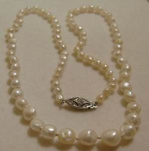 Antique Graduated Natural Mississippi Freshwater Pearl ...