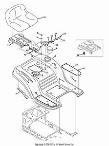 Troy Bilt 13wn77ks011 Pony  2013  Parts Diagram For Seat