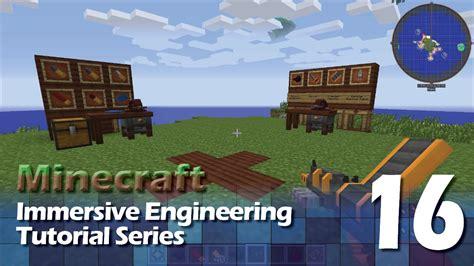 immersive engineering tutorial  revolver youtube