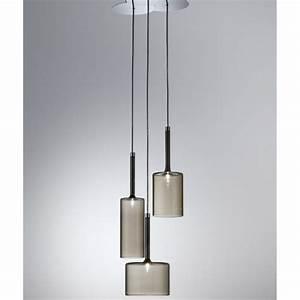 Axo light spillray spspill grcr v grey pendant ceiling