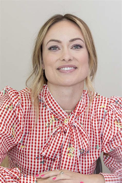 olivia wilde attends 'booksmart' press conference and ...