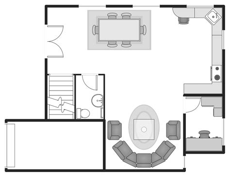 basic home floor plans basic floor plans solution conceptdraw com