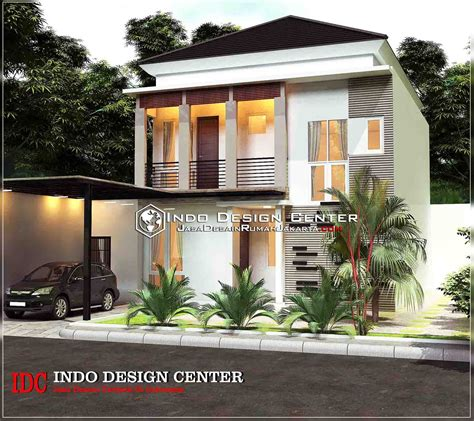 rumah minimalis modern  lantai jasa desain rumah