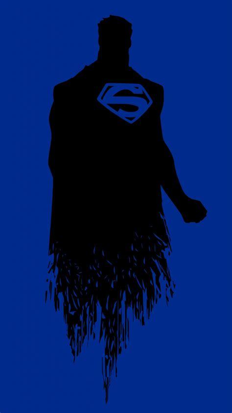 wallpaper superman minimal blue   minimal
