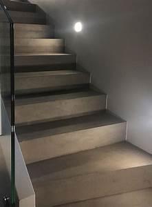 Beton Cire Treppe : beton cir treppen zeitloses design von raumkonzept trier ~ Indierocktalk.com Haus und Dekorationen