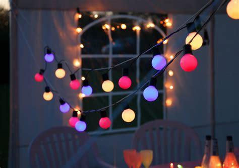 LED Partylichterkette   Party Line Outdoor   10,70m   20x
