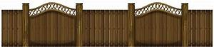 Fencing clipart wooden gate, Fencing wooden gate ...