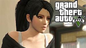 Momiji Dead Or Alive 5 In GTA V Missions Cut Scene YouTube