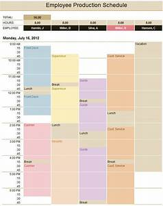 production schedule template cyberuse With production schedule template excel free download