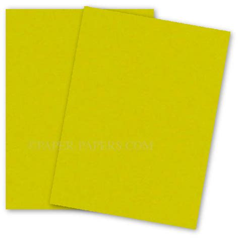 Browse yellow card stock on sale, by desired features, or by customer ratings. Astrobrights 8.5X11 Card Stock Paper - SUNBURST YELLOW - 65lb Cover - 250 PK