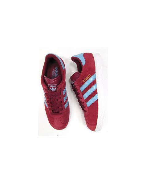 newest collection 3512b 81e86 1000 x 1256 www.80scasualclassics.co.uk. Adidas Gazelle 2 Trainers Claretsky  Blue ...