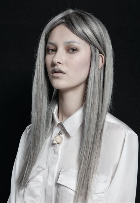 long gray hair hair colors ideas