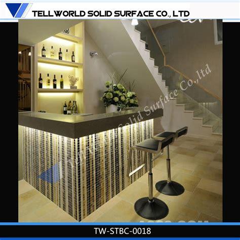 fancy star light modern led unique home mini bar design