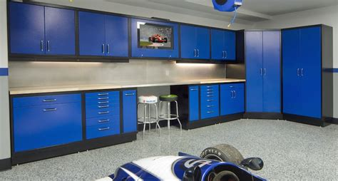 new age storage cabinets designing for an organized garage part 2 using the walls