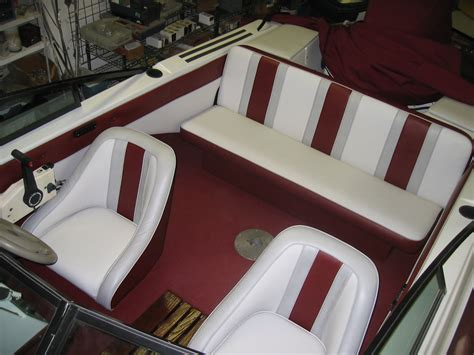 boat interior fabric homestyle custom upholstery and awning 3 tone boat interior 2581