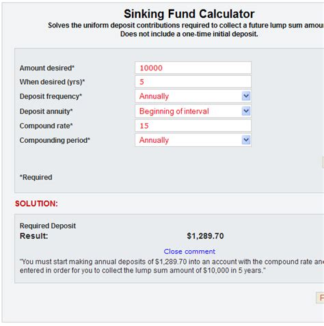 sinking fund formula calculator sinking fund factor and how real estate investors use it