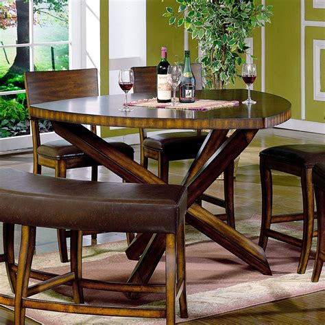 Dining Room stunning bench for round dining table Round
