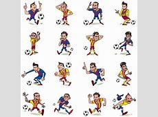 FC Barcelona launch first stickers on Facebook Messenger