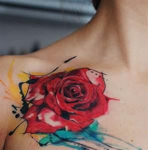 Rosen Tattoo Schulter : die besten 25 frauen schulter tattoo ideen auf pinterest schulter tattoos f r frauen ~ Frokenaadalensverden.com Haus und Dekorationen