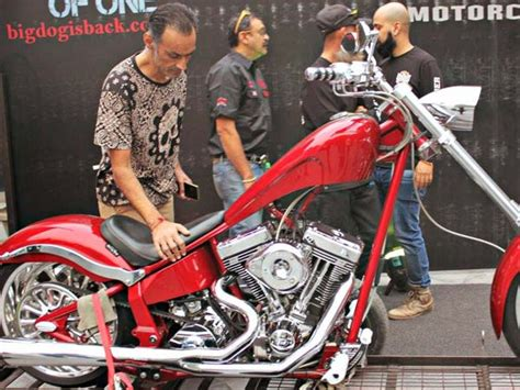 Big Dog Motorcycle Launch K9 Red Chopper In India For Rs
