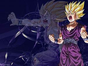 Super Saiyan 2 Gohan Vs Cell Wallpaper | www.imgkid.com ...