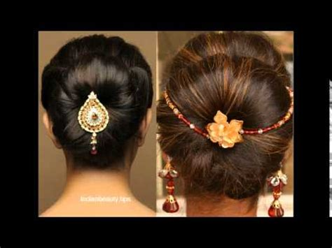 Saree Hairstyles   YouTube