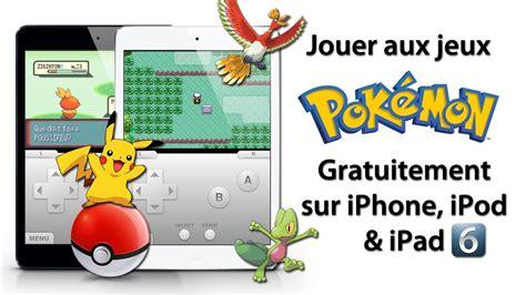 jeux de cuisine sur jeux jeux jeux jouer aux jeux pokémon gratuitement sur iphone ipod touch sous l 39 ios 4 5 6