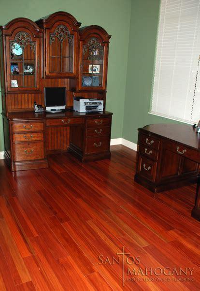 Santos Mahogany Flooring   Rich Exotic Hardwood Flooring