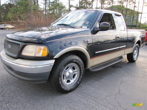 2000 Black Ford F150 Lariat Extended Cab #57095373