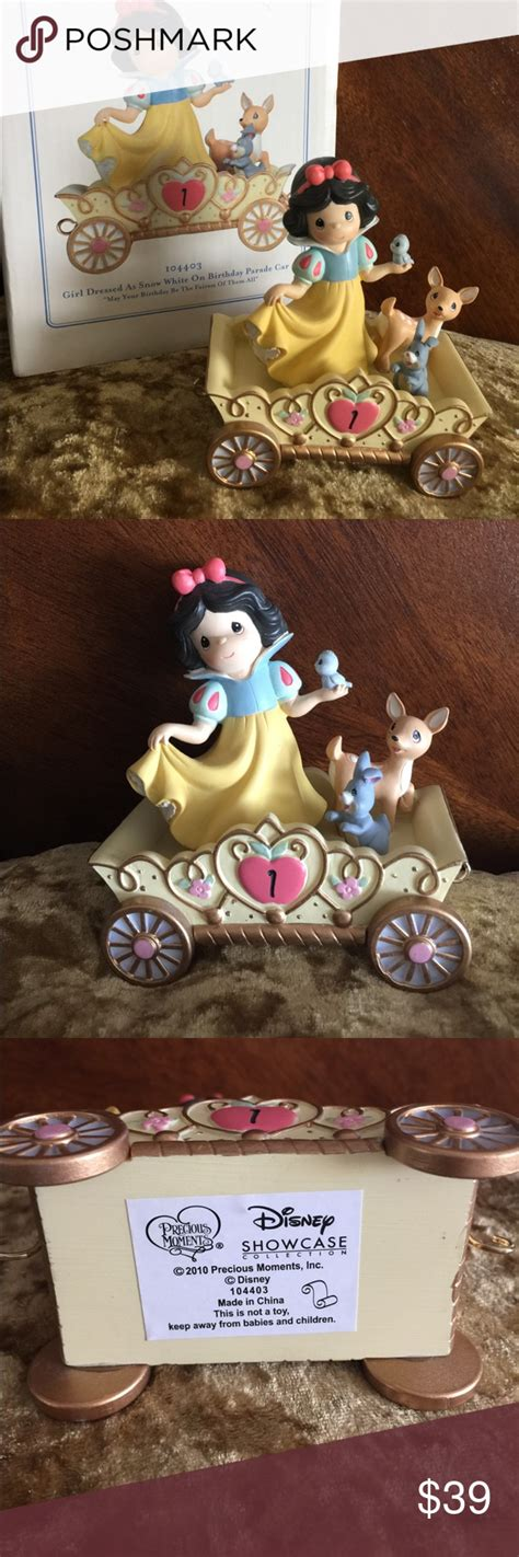 SALE DISNEY Snow White on BD Car Precious Moments Disney