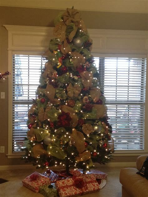 How To Use Decorative Mesh On Trees - 1000 ideas about mesh tree on deco