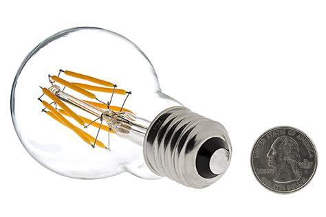 a19 led bulb 50 watt equivalent led filament bulb 12v