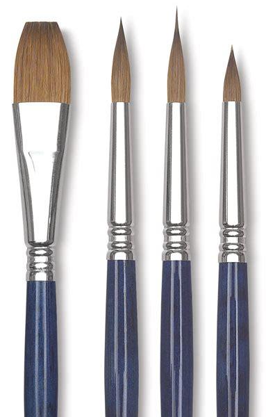 water color brushes escoda optimo kolinsky watercolor brushes blick
